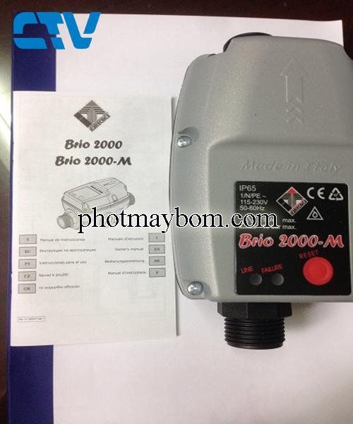Rơ le chống cạn Brio 2000-M