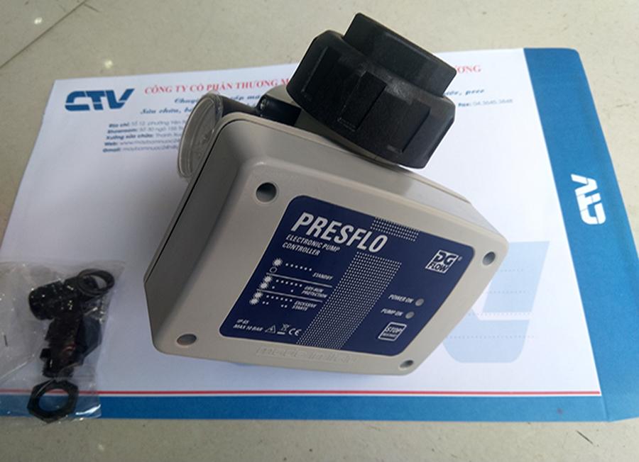 Bộ điều khiển và bảo vệ máy bơm tăng áp bằng mạch điện tử rơ le dòng Presflo